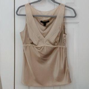 Express silk sleeveless top